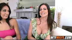 MILF threesome 2 sexy MILFS Kendra Lust and Amber Cox 1