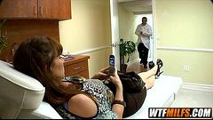 MILF fucked at doctors office Ray Vaness 1