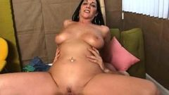 brunette stepmom gets pussy stretched 4