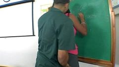 Slutty Italian teacher fucks in class 1 002