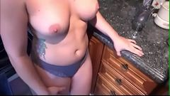 Dirty mom seducing her son for fuck  720p