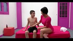 Milf Short Hair And Very Young Boy
