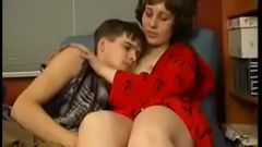 step horny mom consoles son