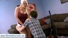 Thefamilysextube.com--mother with great ass and big tits getting fucked by son