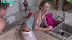 Mom got stuck, Son takes advantage - FREE Full Family Sex Videos at FiLF.BiZ -