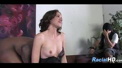 Hot Mom Getting Railed By Black Dick In Front Of Her Son