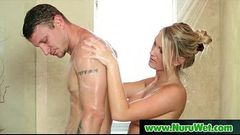 NuruMassage Son Fully Serviced by Step-Mom 12