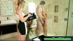 NuruMassage Son Fully Serviced by Step-Mom 02