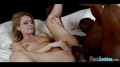My mom has a black cock fetish 168