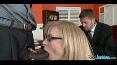 Watching mom fuck a black guy 370